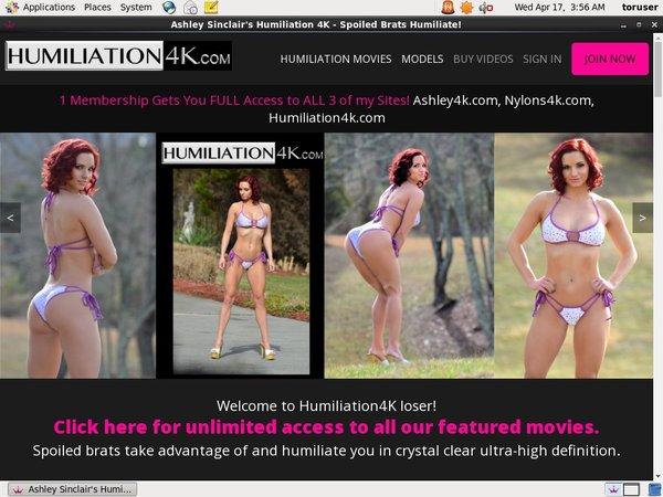 Free Humiliation4k.com Account Password