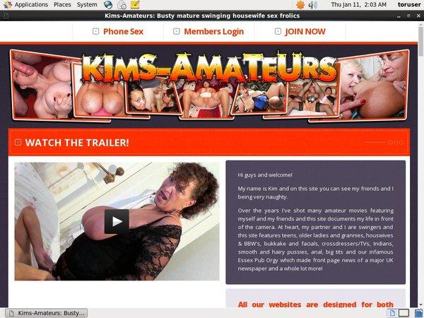 Kim's Amateurs Deals