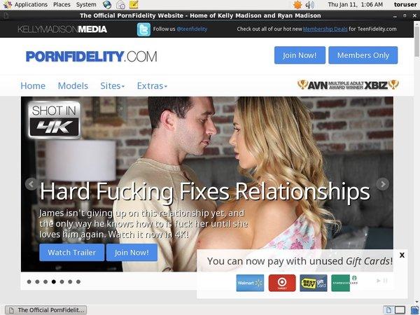 Pornfidelity.com Offer Paypal