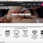 Premium Tgirl Play Time Passwords