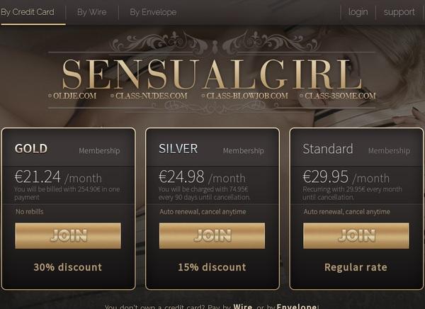 Sensualgirl.com Username