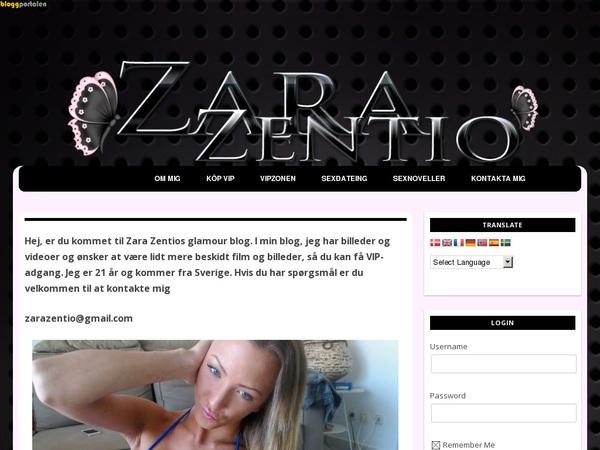 Zara Zentio Free Acc