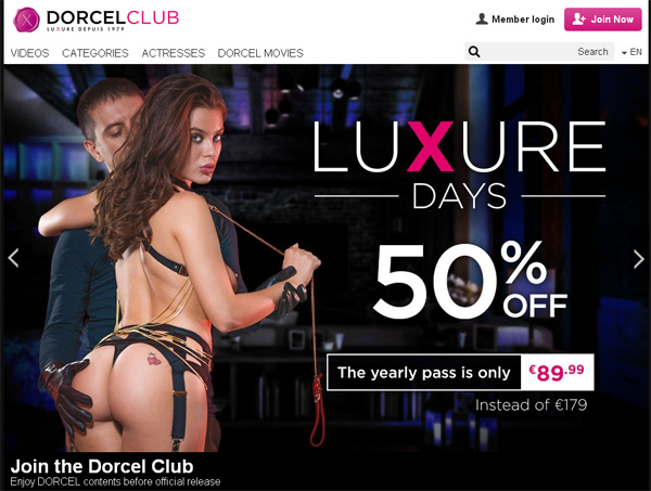 Dorcel Club Account For Free