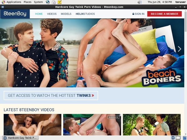 8teenboy.com Network Password