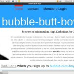 Bubble Butt Boys Website Accounts