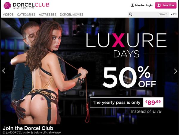 Make Dorcelclub Account