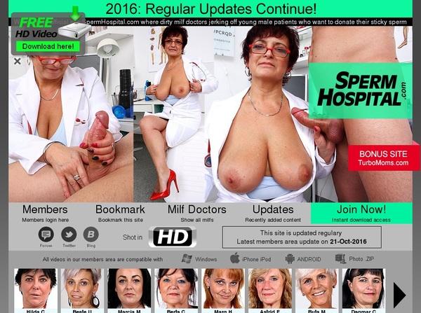 Make Spermhospital Account