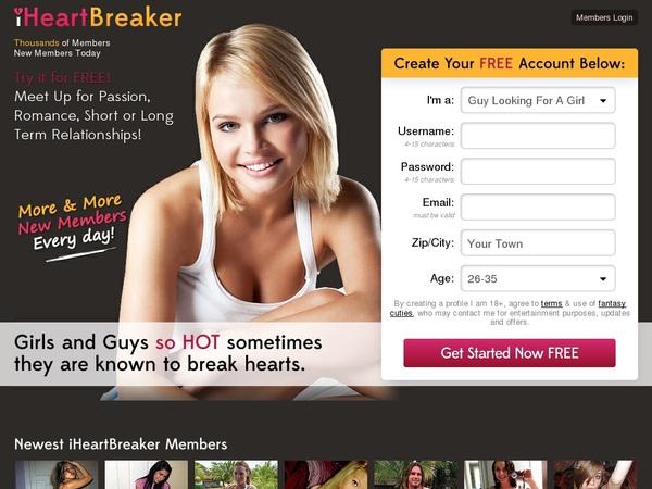 Iheartbreaker.com Trial Member