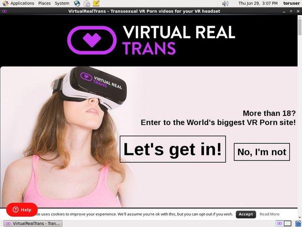 Virtual Real Trans Accept Pay Pal