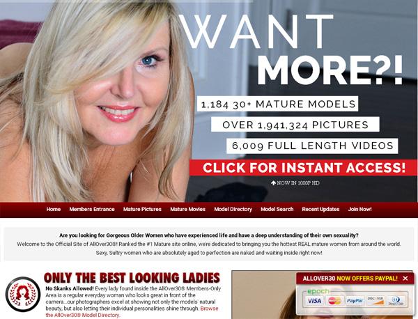 Allover30.com Free Trial Promo