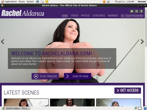 Rachel Aldana Sex