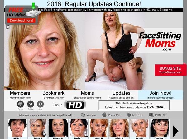 Facesittingmoms Password Details