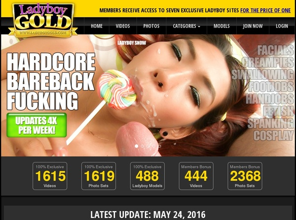 Ladyboygold Limited Time Discount