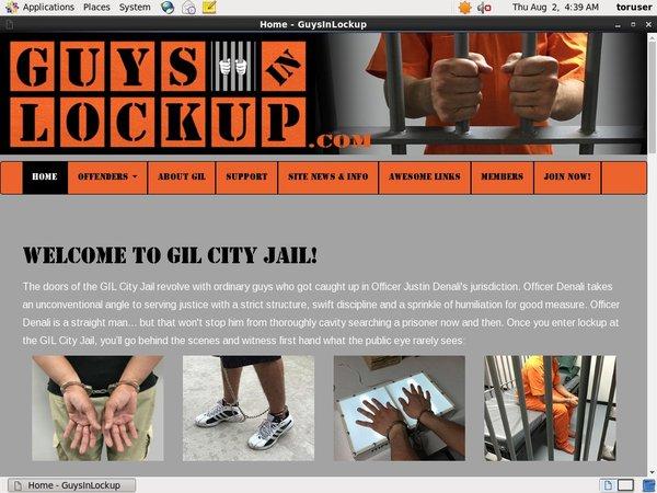 Guysinlockup.com Free Trial Pass